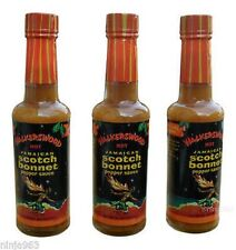 3 walkerswood hot jamaican scotch bonnet pepper sauce no msg 5 oz
