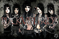 "BLACK VEIL BRIDES - MUSIC POSTER / PRINT (THE GUYS IN LEATHER) (36"" X 24"")"