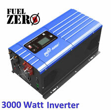 3000W / 9000 Watt 24v Pure Sine Low Frequency 110v Inverter Built-In AC Charger