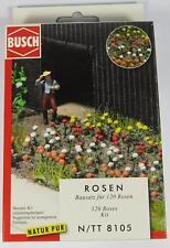 BNIB N BUSCH 8105 120 ROSES -  FIELD / GARDEN KIT