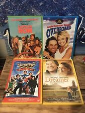 Captain Ron 4 DVD Kurt Russell Lot 1992 Overboard, Sky High, Dreamer Rare Cases