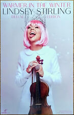 LINDSEY STIRLING Warmer In The Winter Ltd Ed RARE Tour Poster Display! Christmas