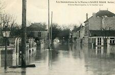 SAINT MAUR DES FOSSES Inondations de la Marne Avenue Beaurepaire 30 Janvier 1910