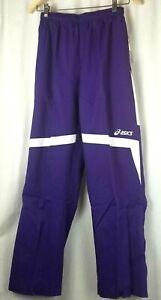 asics surge warm up pants womens size S purple exercise workout gym pant