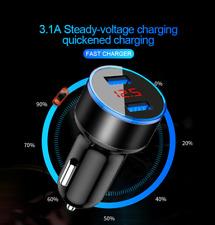 Chargeur fast car allume cigare 3.1A charge rapide haute qualité Double USB