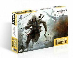 "Assassin's Creed 3: Puzzle 1000 pezzi ""Connor"" N.2 1000 pz (70 X 50 Cm.) Sailed."