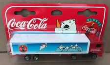 Vintage 1997 Majorette Coca-Cola Volvo Semi with Trailer  MIP