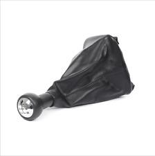 5 Speed Gear Shift Stick Gaitor Gaiter Knob Black For PEUGEOT 207 307 CC 308 New