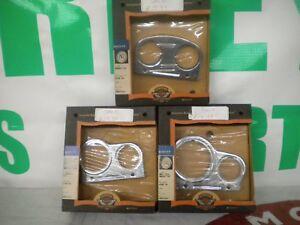 harley davidson multi-fit mini gauges top brackets 3 total