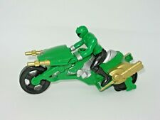 Power Rangers - SUPER MEGAFORCE LIGHTSPEED RESCUE CYCLE AND GREEN RANGER