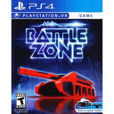 Battlezone Battle Zone USED SEALED (Sony PlayStation 4 VR, 2016)