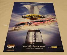 V8 Supercars 2007 Dunlop Grand Finale Phillip Island Large Event Poster