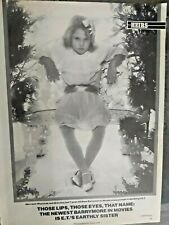 Drew Barrymore 1982~3 Page Magazine Clipping/Article ~Great Collectable~E.T.