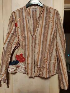 Per Una Embroidered Shirt S18