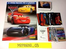 CARS 3 Disney Panini 2017 - ALBUM + Set Completo Figurine-Stickers (#)