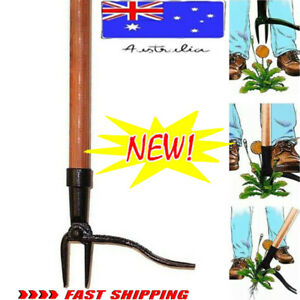 Grampa's Weeder -The Original Effortless Stand Up Weed Puller Remover Tool -Made