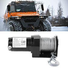 12V 2000LB Treuil électrique résistant pour voiture de remorque de bateau ATV