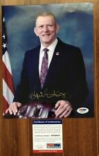 Eugene Gene Kranz Signed Autographed Nasa Apollo Flight Director Photo Psa/Dna