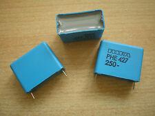Polypropylene film capacitor Evox Rifa 1.5uf 250v 5% 30x 24 x14mm pk 4 Z586