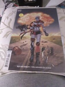 Old Lady Harley #1B, DC, 2018, NM, Amanda Conner Cover