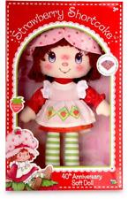 Strawberry Shortcake 40th Aniversario Muñeca Suave