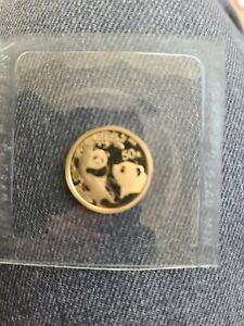 Gold panda coin 3.4 grams not opened
