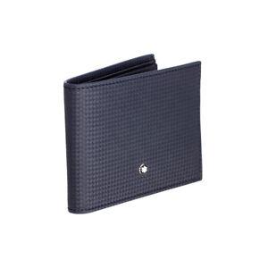Montblanc Extreme Blue Leather Men's Wallet 8CC #116362
