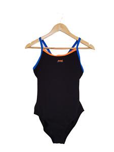 ZOGGS Womens Black Aqualast One Piece Racerback Bathers Swimwear - Size 14