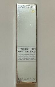 Lancome Renergie Lift Multi-Action Lip Replumping Balm 0.5oz New in Box- Sealed
