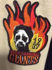 Zulu cannibal giants baseball jacket