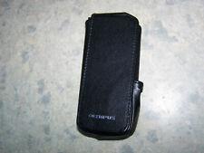 Olympus dictaphone CS119 Leather case with belt clip Genuine