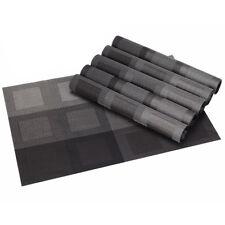 6 Stk. Tischsets / Platzmatten / Platzset / Platzdeckchen 30 x 45cm