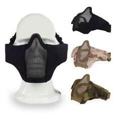 Half Military Costume Masks