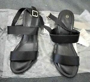 Womens Shoes 2 Strap Comfort Sandal Size 8W