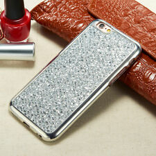 Bling Glitter Diamond Soft TPU Phone Back Case Cover For iPhone/Samsung Galaxy
