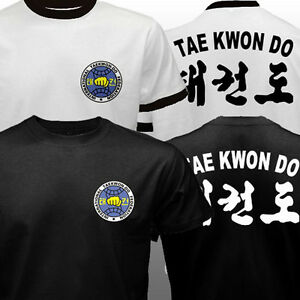 New Korean ITF international Taekwon-Do Federation Full Contact T-shirt