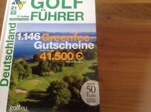 -Gutscheine aus dem Albrechtführer Golf Guide greenfee gutscheine 21/22