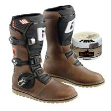 Gaerne Balance Oiled Leather Trials Boot with FREE DUCKSWAX Waterproof Polish
