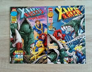X-MEN VS THE BROOD:DAY OF WRATH MARVEL COMIC LIMITED SERIES #1 AND #2