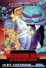 Sega Mega Drive Game-Wonder Boy in Monster World With Original Box MINT