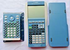 TI-Nspire blue Calculator TI- 84 Plus Keyboard Handheld Math & Science Graphing