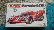Mitsuwa 1/28 PORSCHE 917K LE MANS MOTORIZZATA KIT OTTIME CONDIZIONI SUPER RARA
