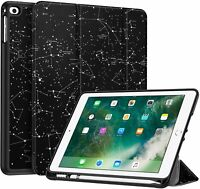 For iPad 9.7'' 6th Gen 2018 /iPad 5th Gen 2017 Smart Case Soft TPU Cover Stand