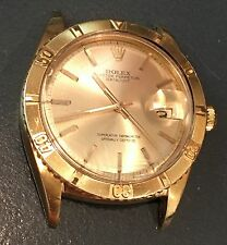 Rolex Gold Datejust Vintage 1625 36MM Turn-O-Graph Champagne dial Thunderbird