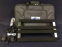 BoxKing 4828 Rechargeable Guitar Effect Pedalboard,25600mAh+Deluxe Carry Bag