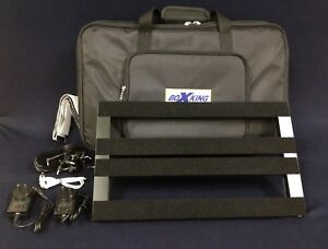 BoxKing PB4828B Rechargeable Guitar Effect Pedalboard,25600mAh+Deluxe Carry Bag