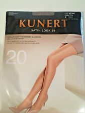 Kunert Satin LOOK 20 Glossy Transparent Tights Hosiery Size 3 Diamant Color