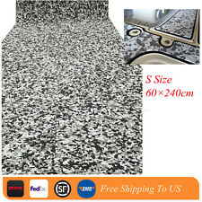EVA Boat Teak Decking Sheet Marine Flooring Carpet Non Slip Mat Black Camouflage