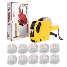Mx5500 Eos 8 Digits Price Tag Gun Yellow Pricemarker Labels Ink for Super Market