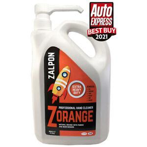 ROZALEX Zalpon ZOrange - Extra heavy-duty hand cleaner with pumice 4 ltr bottle
